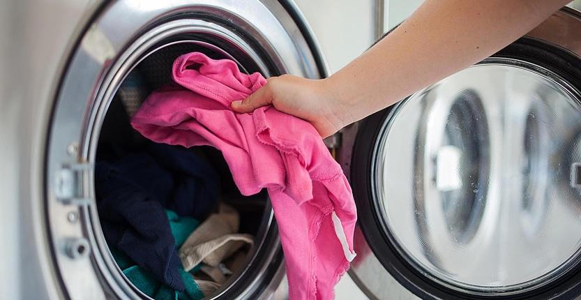 کم کردن حجم ماشین لباسشویی