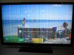 پیدا شدن خطوط عمودی بر روی تلویزیون